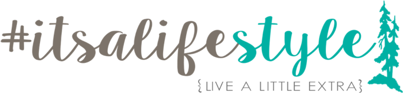 Coloured logo for #itsalifestyle